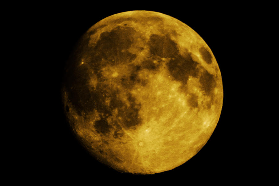 Yellow moon by moothemoo on deviantart