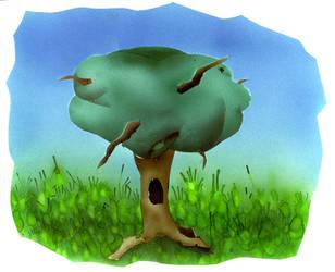 Just A Friggin' Tree by parasight