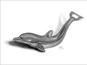 Chrome Dolphin by parasight