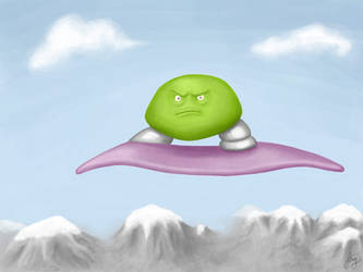 Angry Flying Mofo by parasight