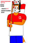I Celebrate Indonesia Indepedence Day 73 th by DIMASTHEFOX