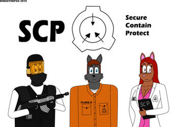 SCP Secure Contain Protect by DIMASTHEFOX