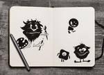10 Free PSD Sketchbook Mockups