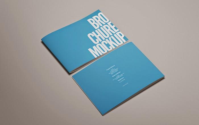 Free PSD Brochure Mockup By Webhub On DeviantArt - Brochure mockup template
