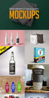 25+ Free Product Packaging Mockup PSD Templates