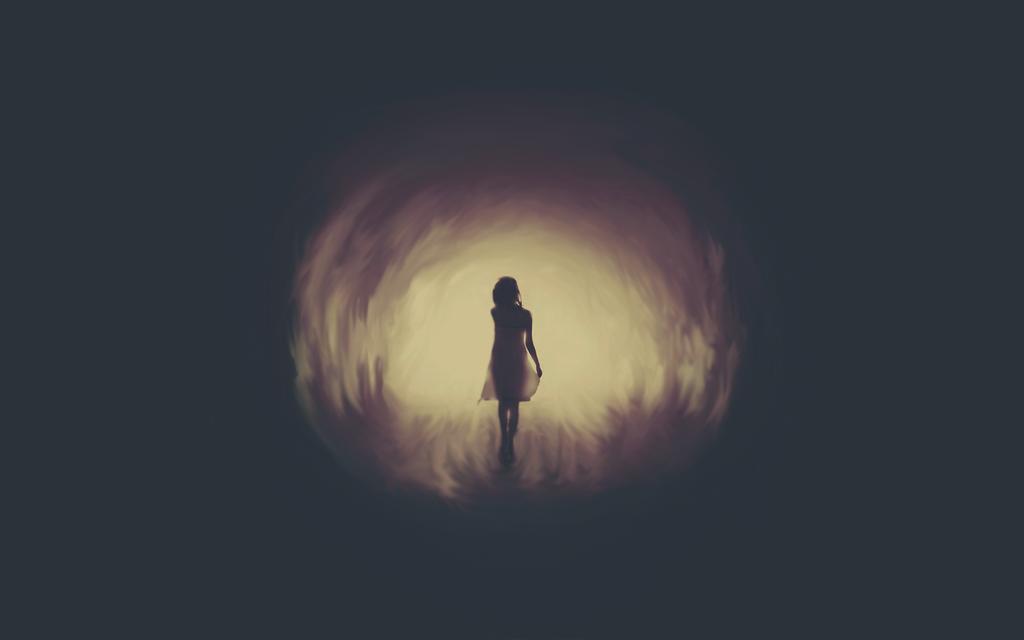 Картинки по запросу девушка в туннели