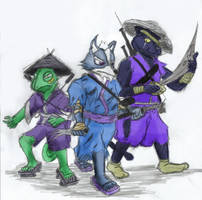 StarFox Ancestors: 2 Foreigners And An Outcast