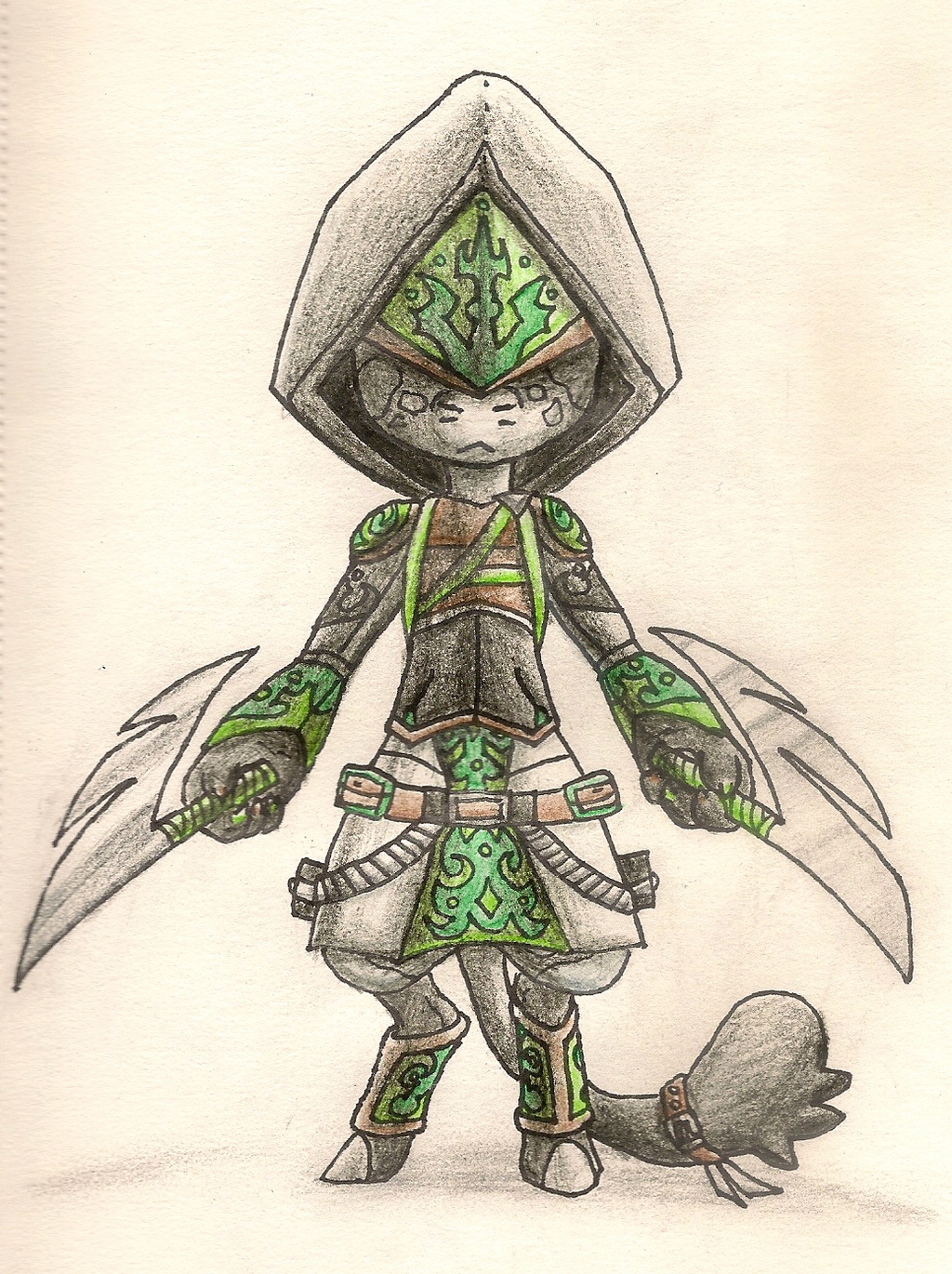 Eileen's Assassain's Creed Outfit by Geo-Dragon