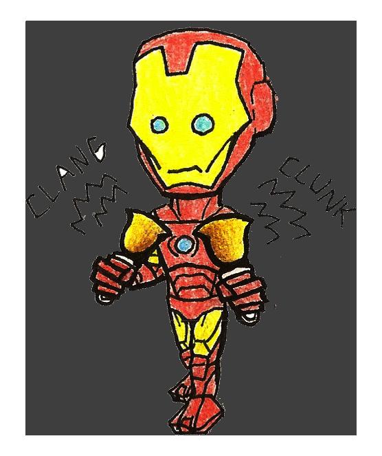 Why Ironman Shouldn't Play Handbells by Geo-Dragon