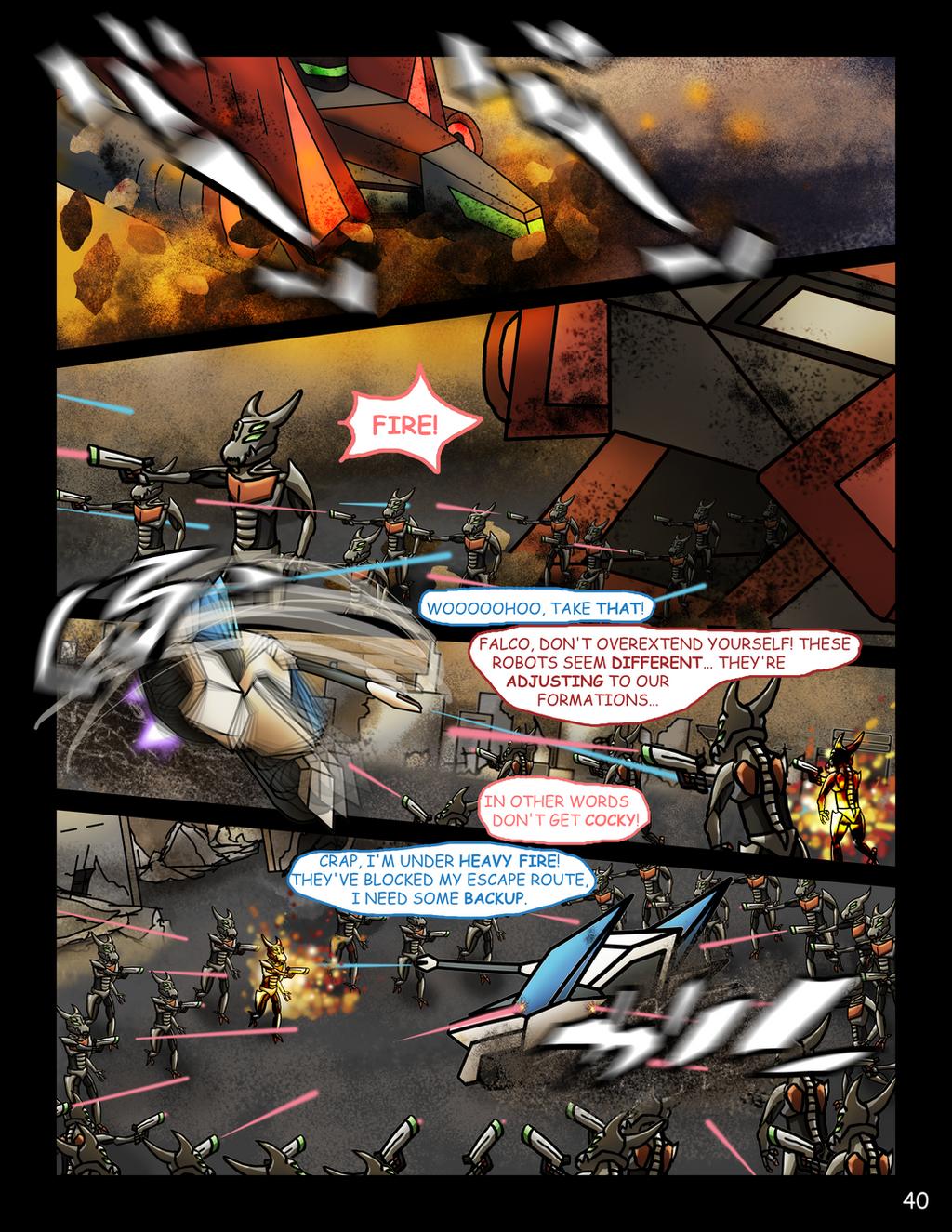 Star Fox: Delta - Page 40 by Geo-Dragon