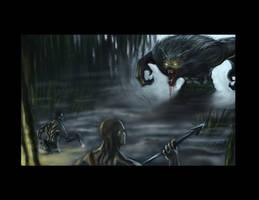 Werewolf Battle by truehorror666