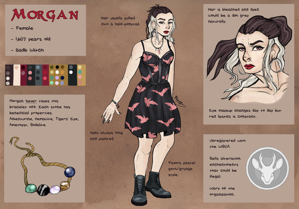 Morgan Ref- Wathais by ThisLittleBluebird