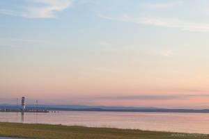 Sunset in Podersdorf by naturtrunken