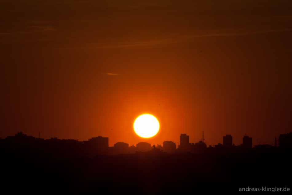 Sunset in Madrid 2 by naturtrunken