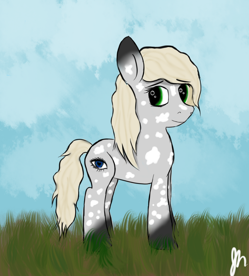 Lizzie as a Pony by MariaLuver