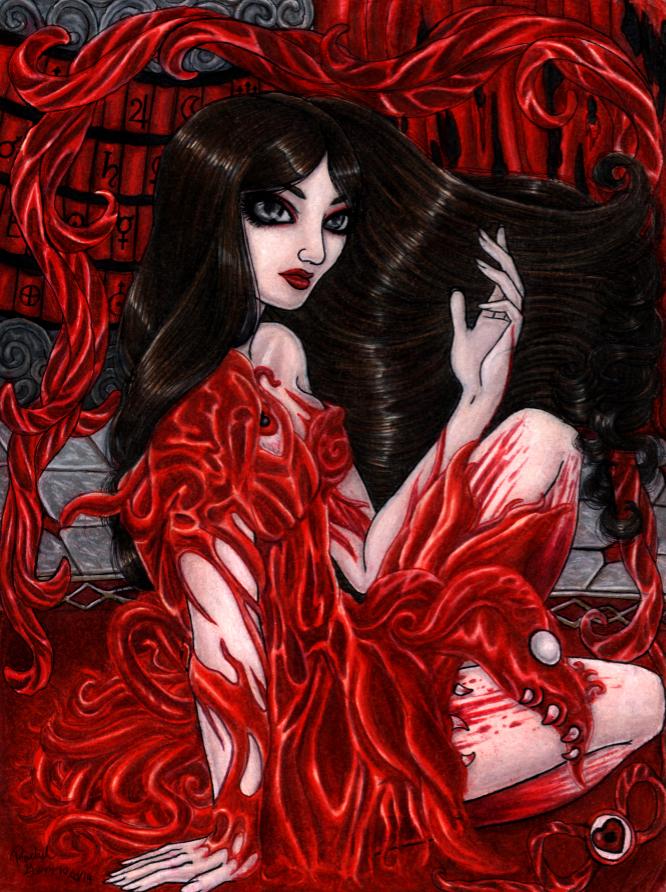 +The Fleshmaiden+ by MaliciousMisery