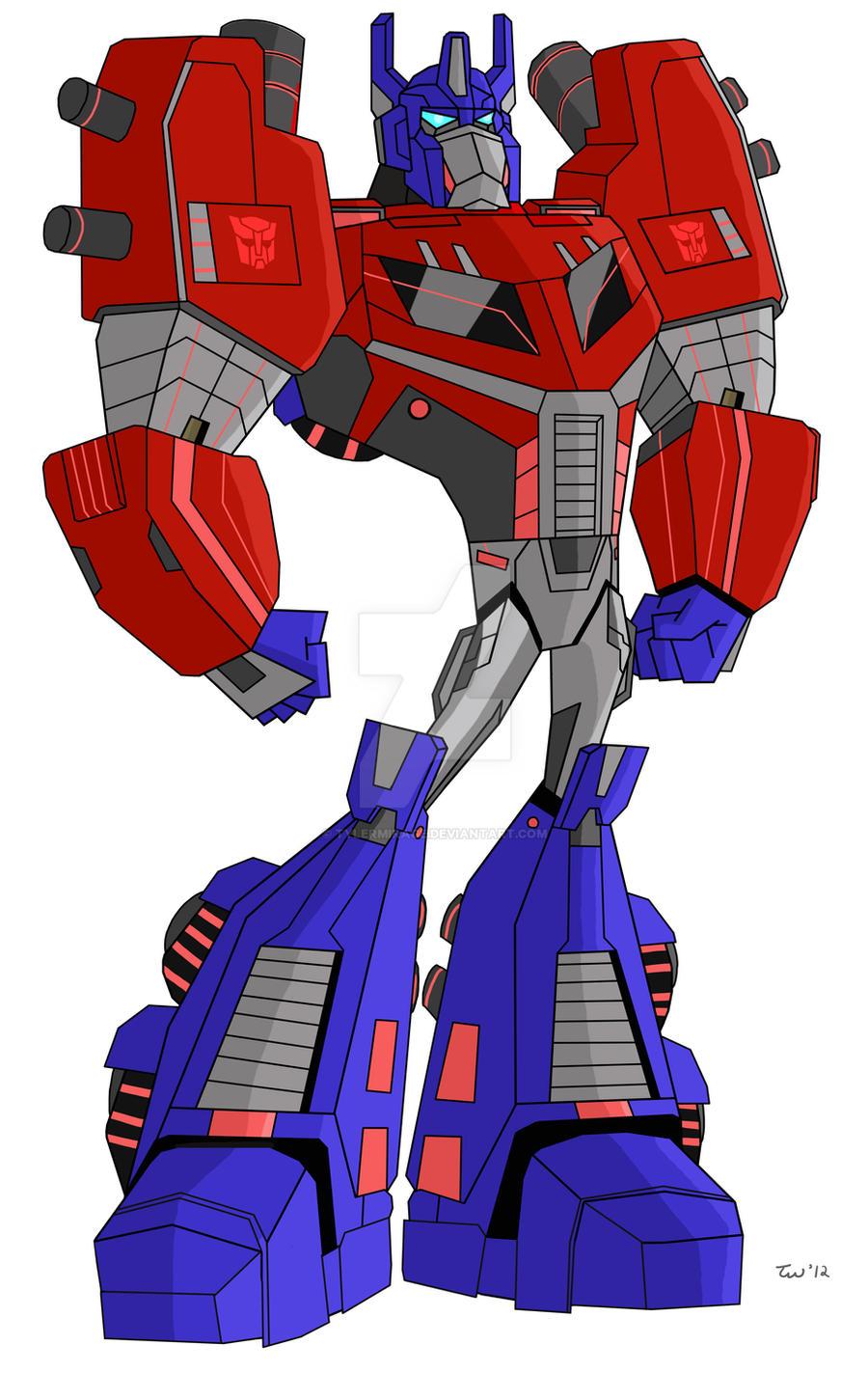 fall of cybertron optimus prime wwwpixsharkcom