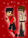TF2 OCs- Skyler and Claus