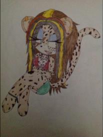 Kumia the leopard by DJFoxy123