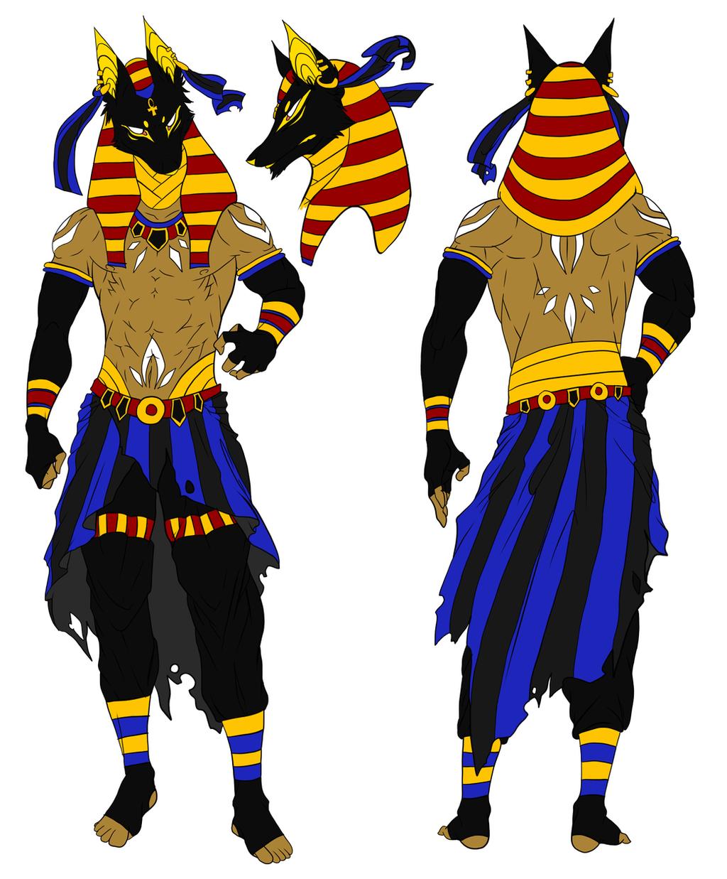 Egyptian God Anubis by iFierceFang on DeviantArt