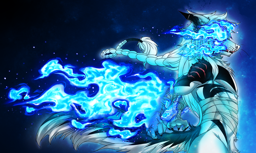 Sapphire Galaxy by iFierceFang