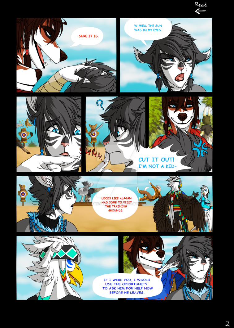 Unexpected Conflict pg2 by iFierceFang