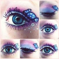 Eye make up - Cute as Candy by HannyPumpkinman