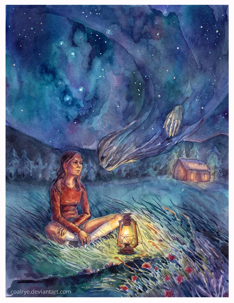 Starry Darkness by CoalRye