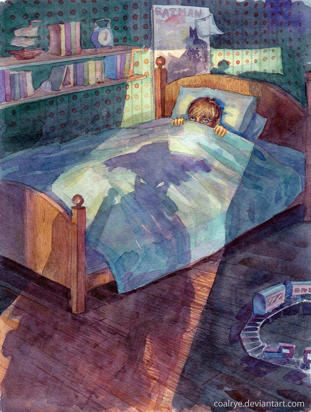 Night visitor by CoalRye