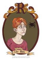 Ron Weasley by CoalRye