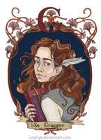 Hermione Granger by CoalRye