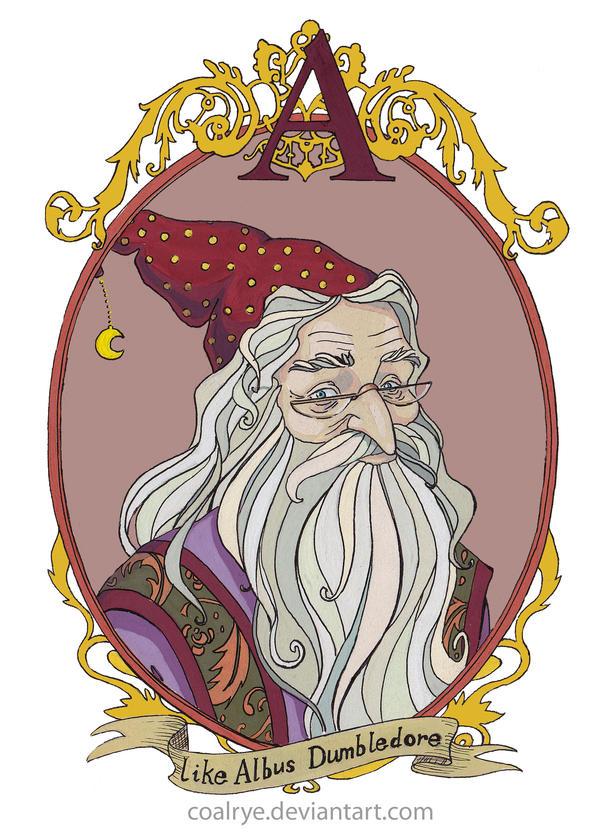 Albus Dumbledore by CoalRye
