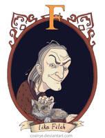 Argus Filch by CoalRye