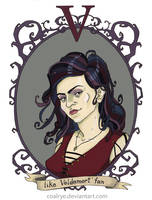Bellatrix Lestrange by CoalRye