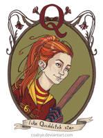 Ginny Weasley by CoalRye