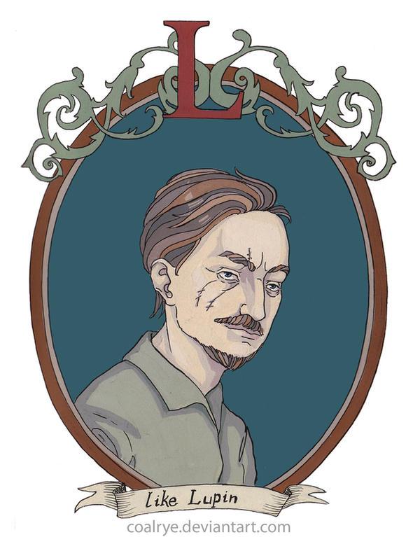 Remus Lupin by CoalRye