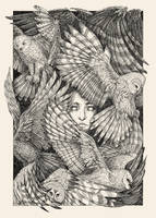 Daughter of owls by CoalRye