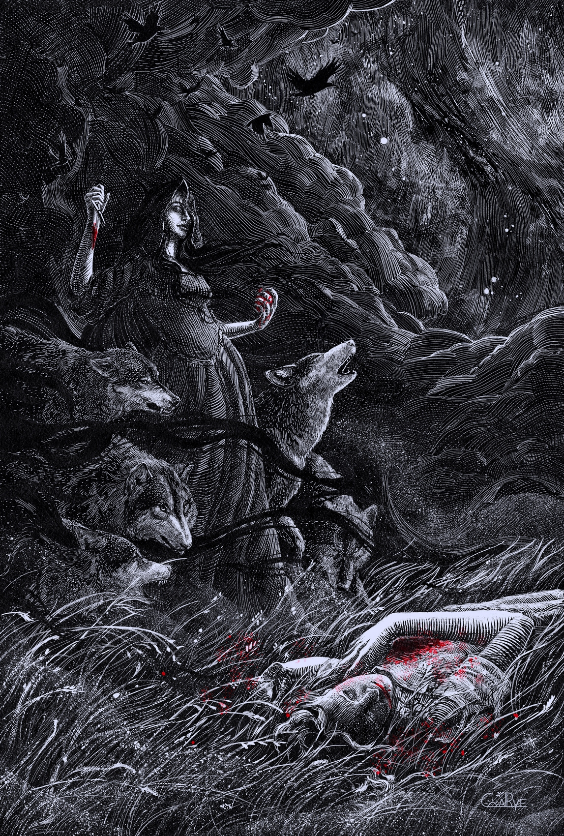 Night Hunt by CoalRye