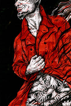 The Man in the Red Cloak