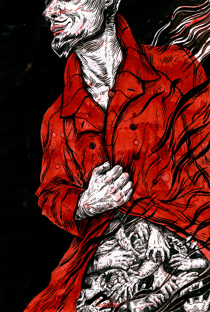 The Man in the Red Cloak by CoalRye