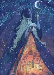 Old Man Night by CoalRye