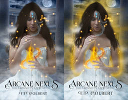 Arcane Nexus | Wattpad Book Cover by lrafael98