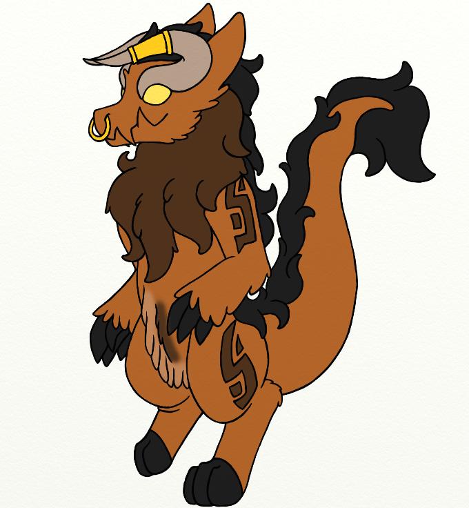 Tauro - King Wickerbeast by Draconi98