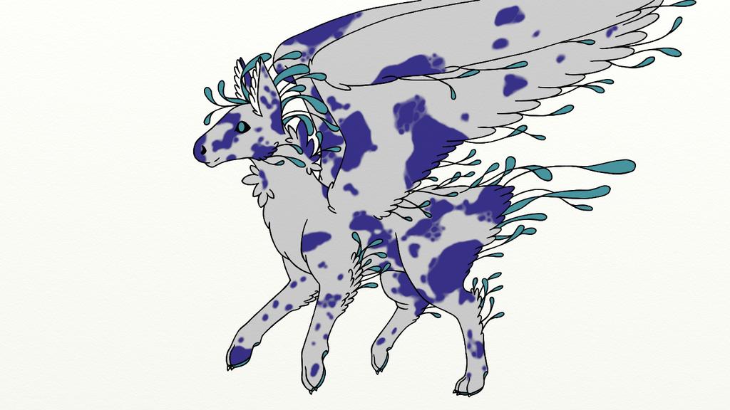 Merle - Dutch Angel Dragon by Draconi98
