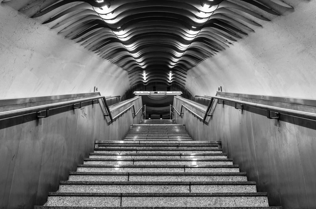 Leaving the metro by Pandora51