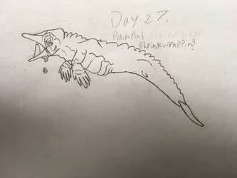 Day 27: Painful Shrinkwrapping by the-sketchy-orca