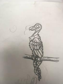A lil vulture