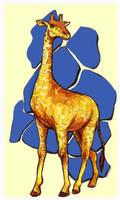 Giraffe by CloudWatcher