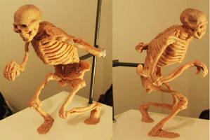 Clay Skele by CloudWatcher