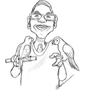 Bird man !